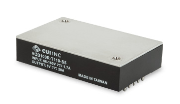 CUI Launch EN50155 Compliant Dc-Dc Converters For Railway Applications